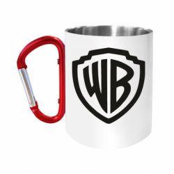 Кружка з ручкою-карабіном Warner brothers