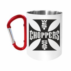 """Кружка с ручкой """"карабин"""" West Coast Choppers"""