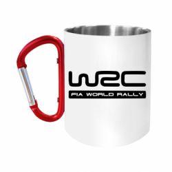 """Кружка с ручкой """"карабин"""" WRC"""