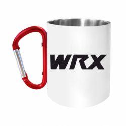 Кружка з ручкою-карабіном WRX