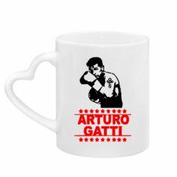 Кружка з ручкою у вигляді серця Arturo Gatti