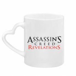 Кружка з ручкою у вигляді серця Assassin's Creed Revelations