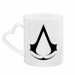 Кружка з ручкою у вигляді серця Assassin's Creed
