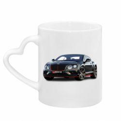 Кружка з ручкою у вигляді серця Bentley car3