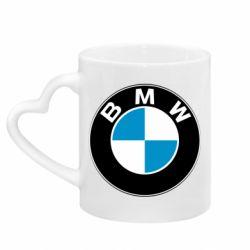 Кружка с ручкой в виде сердца BMW Small