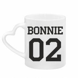 Кружка з ручкою у вигляді серця Bonnie 02