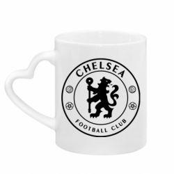 Кружка з ручкою у вигляді серця Chelsea Club