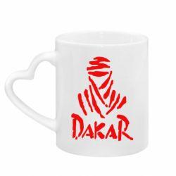 Кружка з ручкою у вигляді серця Dakar