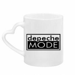 Кружка з ручкою у вигляді серця Depeche Mode Rock