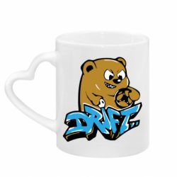 Кружка с ручкой в виде сердца Drift Bear