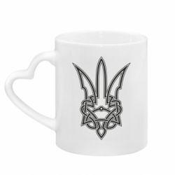 Кружка з ручкою у вигляді серця Emblem 18