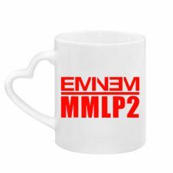 Кружка с ручкой в виде сердца Eminem MMLP2