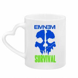 Кружка з ручкою у вигляді серця Eminem Survival