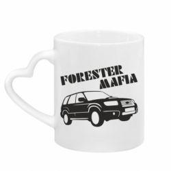 Кружка с ручкой в виде сердца Forester Mafia
