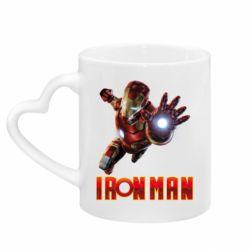 Кружка з ручкою у вигляді серця Iron Man 2