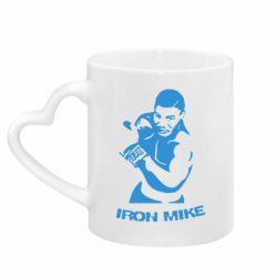 Кружка с ручкой в виде сердца Iron Mike