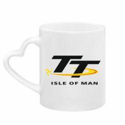 Кружка з ручкою у вигляді серця Isle of man
