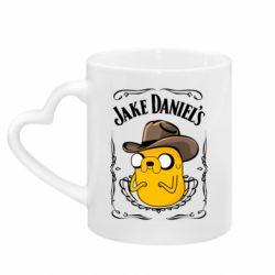 Кружка з ручкою у вигляді серця Jack Daniels Adventure Time