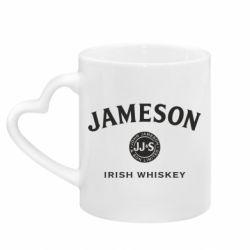Кружка з ручкою у вигляді серця Jameson Whiskey