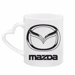 Кружка с ручкой в виде сердца Mazda Small