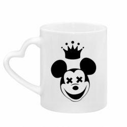 Кружка с ручкой в виде сердца Mickey Mouse Swag