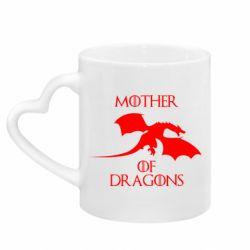 Кружка з ручкою у вигляді серця Mother Of Dragons