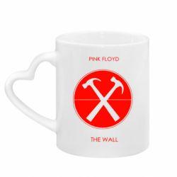 Кружка з ручкою у вигляді серця Pink Floyd The Wall