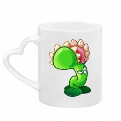 Кружка з ручкою у вигляді серця Plants flower