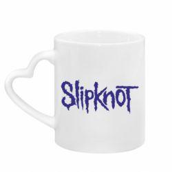Кружка з ручкою у вигляді серця Slipknot