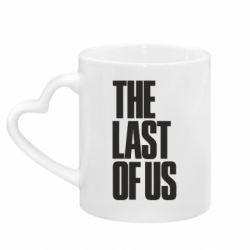 Кружка с ручкой в виде сердца The Last of Us