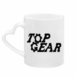 Кружка з ручкою у вигляді серця Top Gear I