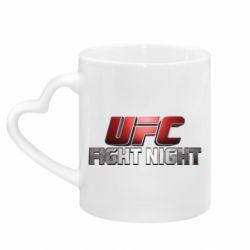 Кружка з ручкою у вигляді серця UFC Fight Night