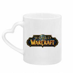 Кружка з ручкою у вигляді серця World of Warcraft game