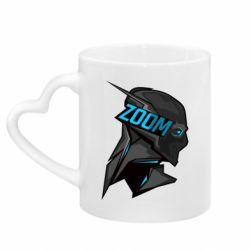 Кружка с ручкой в виде сердца Zoom