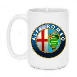 Кружка 420ml ALFA ROMEO - FatLine