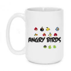 Кружка 420ml All Angry Birds - FatLine