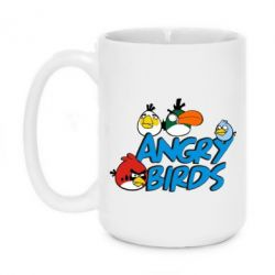 Кружка 420ml Angry birds Team - FatLine