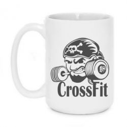 Кружка 420ml Angry CrossFit - FatLine