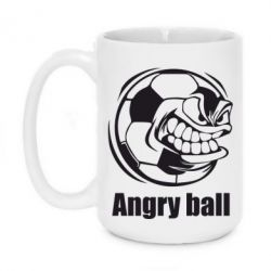 Кружка 420ml Angry Football