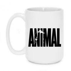 Кружка 420ml Animal Gym - FatLine