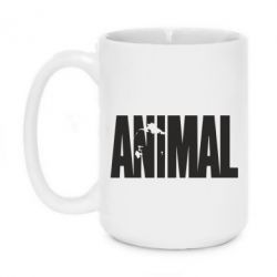 Кружка 420ml Animal Logo - FatLine