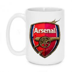 Кружка 420ml Arsenal Art Logo - FatLine