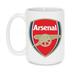 Кружка 420ml Arsenal - FatLine