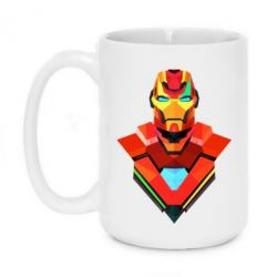Кружка 420ml Art Iron Man
