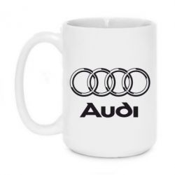 Кружка 420ml Audi Big - FatLine