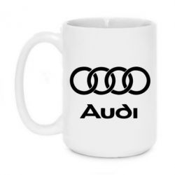 Кружка 420ml Audi - FatLine