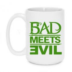 Кружка 420ml Bad Meets Evil