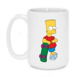Кружка 420ml Bart Simpson