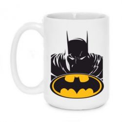 Кружка 420ml Batman face