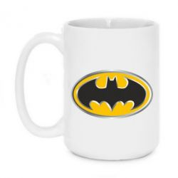 Кружка 420ml Batman Gold Logo - FatLine